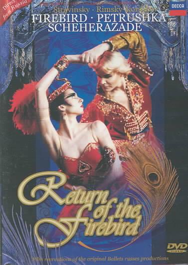 RETURN OF THE FIREBIRD BY BOLSHOI BALLET (DVD)
