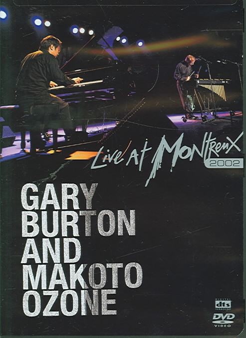 LIVE AT MONTREUX 2002 BY BURTON,GARY (DVD)